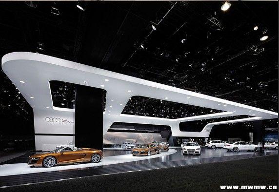 奥迪车展设计--北美国际汽车展