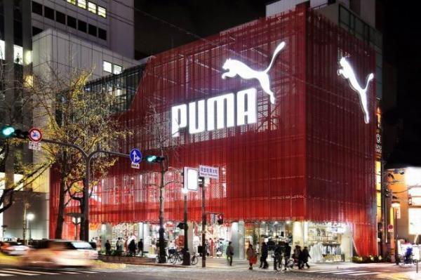 日本大阪彪马零售店设计
