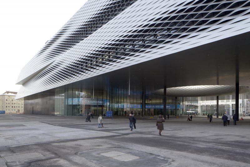 瑞士--巴塞尔展览馆新馆