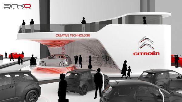最新国外设计效果图十七-雪铁龙车展