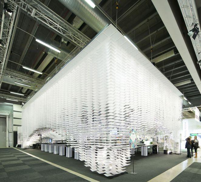 2013斯德哥尔摩家具展上的交流空间 –Hello!  Gert Wingårdh & Kustaa Saksi