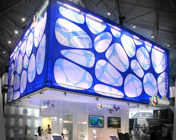 最新国外设计效果图二十二--- 2012俄罗斯POCHAHO公司展台