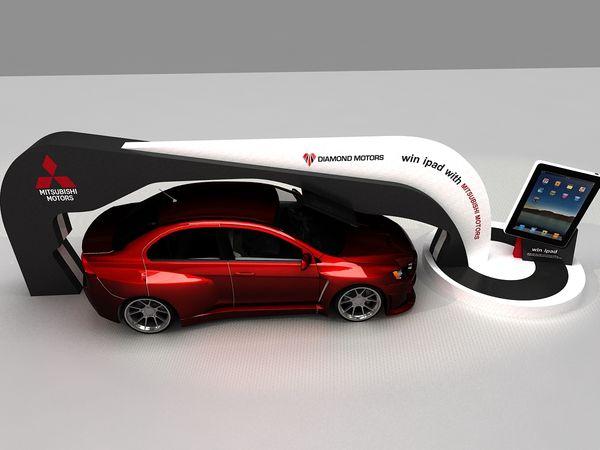 最新国外设计效果图二十三---jeep、三菱国际车展