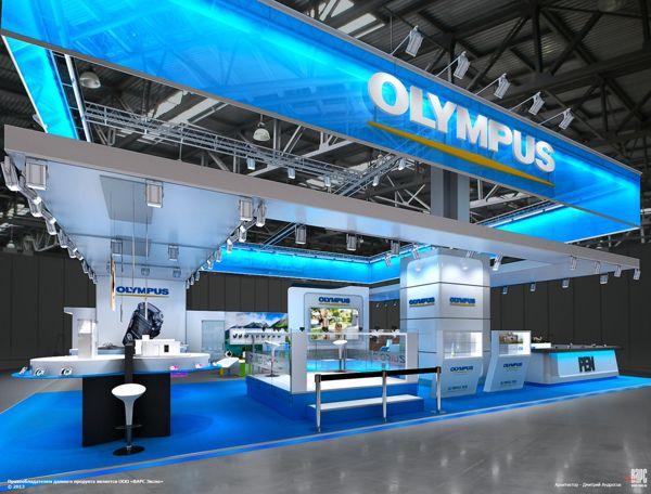 最新国外设计效果图二十八-olympus影像展台