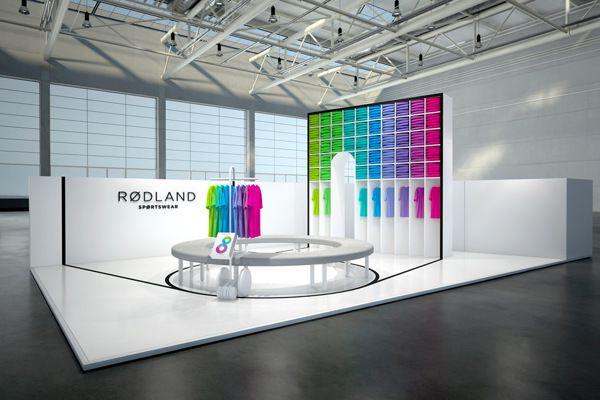 最新国外设计效果图三十--国际服装设计展台   展览设计