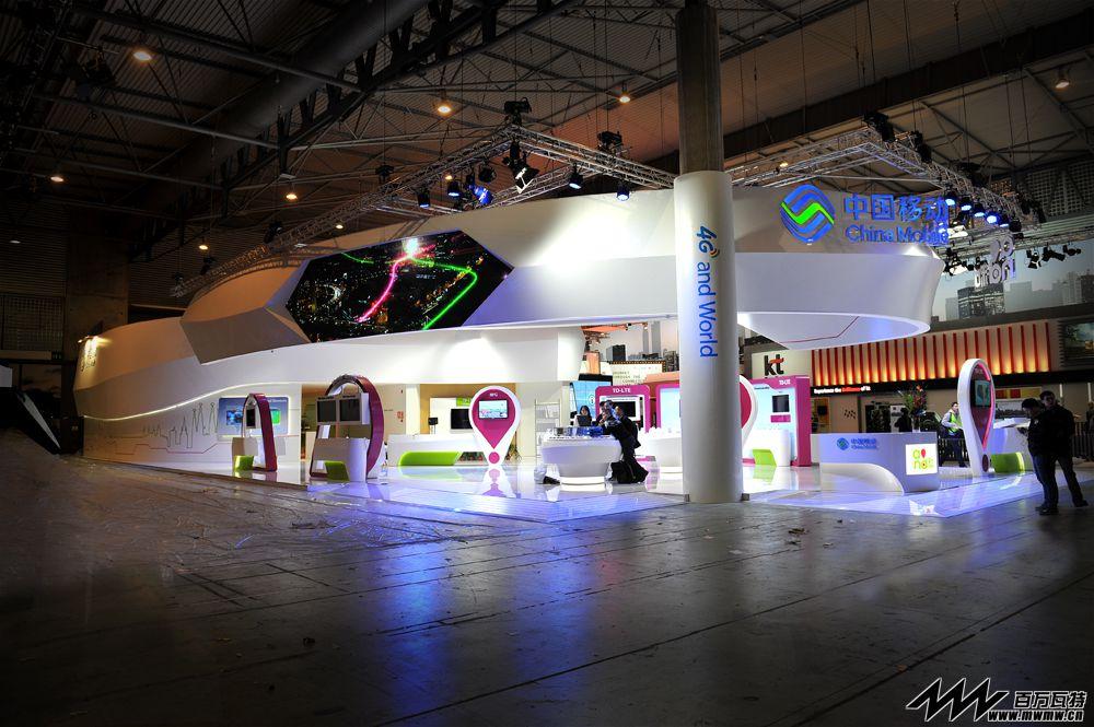 """逸格天骄:助力中国移动""""融合4G世界"""" - 中国移动巴塞罗那GSMA 2014"""