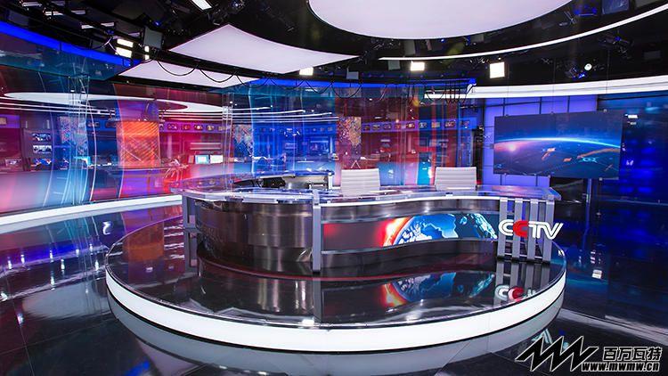 cctv 晚间新闻 演播厅