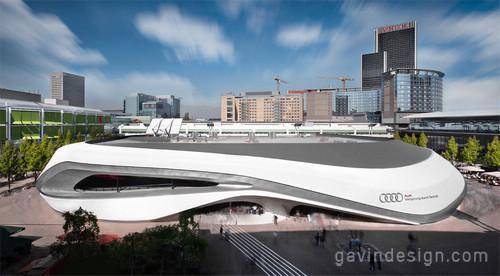 2011法兰克福国际车展(IAA 2011)奥迪展馆