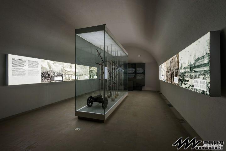 Montjuïc城堡历史展厅@巴塞罗那