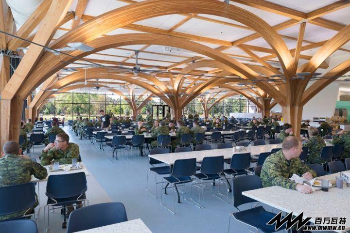 加拿大军队食堂设计