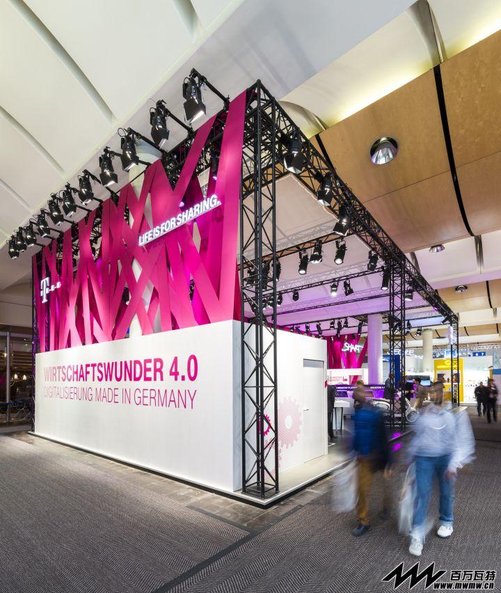 德国电信@2015汉诺威工业博览会