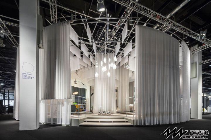 SEBASTIAN HERKNER展台@ 科隆国际家具博览会2016IMM