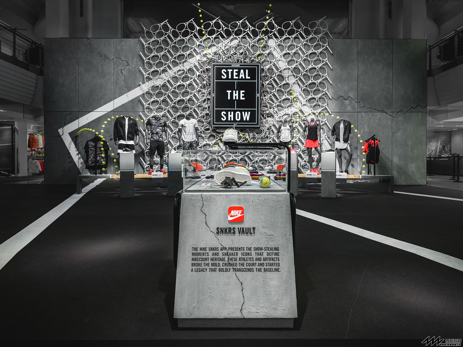 NIKE TOWN NYC@US OPEN 2015