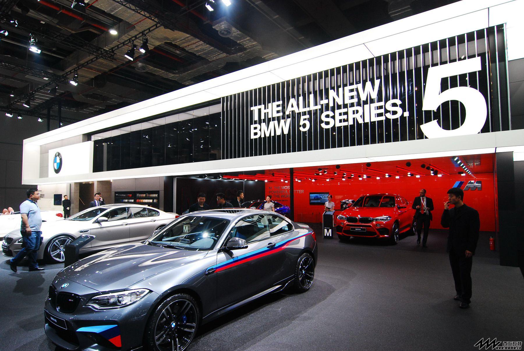 宝马汽车@2017上海国际车展