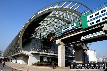 上海磁悬浮车站