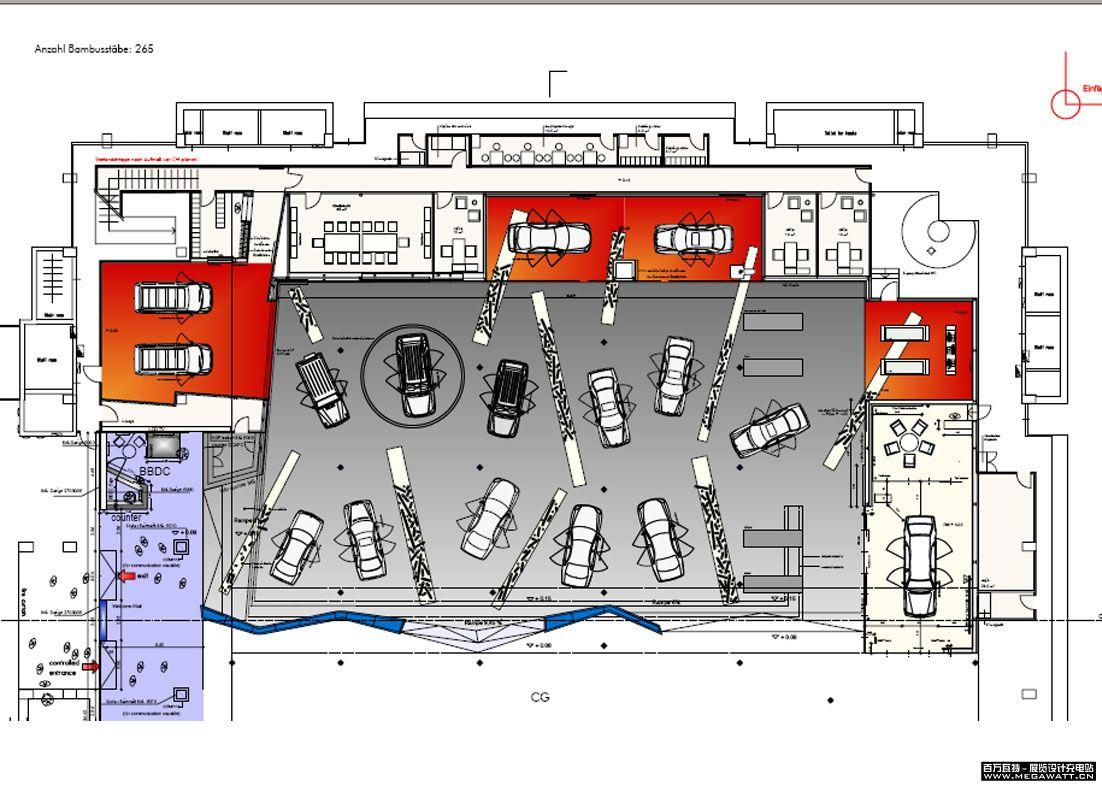 小学教室平面设计图