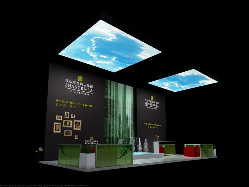 展览展示设计展位收费的收费标准?图片