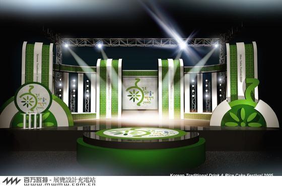 韩国舞台设计!
