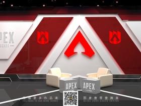 壹零壹舞美设计apex电竞会场设计效果图
