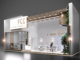 国外PCC展台设计