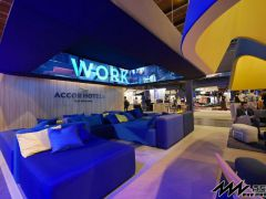 Accor Hotels booth