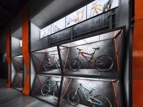 KTM自行车概念展厅设计