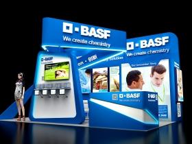 德国BASF展台