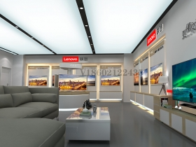 北京3C产品店面SI设计丨联想