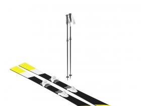 滑水橇3D模型