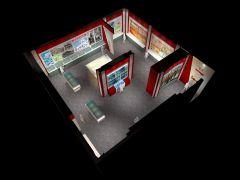 小的展厅,随意做的,发来玩玩呢