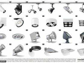 国外室外灯具模型组合