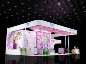 上海孕婴童展丨淘气宝贝展台搭建效果图