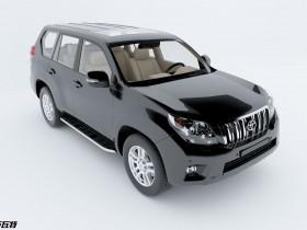丰田汉兰达SUV-3D模型