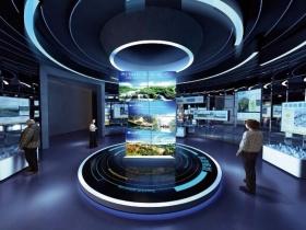 城市展览馆规划馆展厅设计3dmax模型