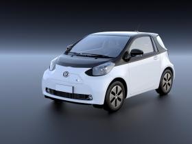 丰田(进口)-丰田iQ电动车 3D模型