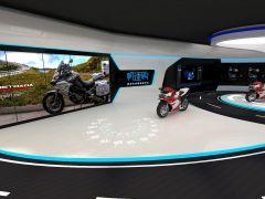 卖摩托车的小展厅