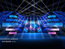舞匠视觉设计演唱会舞美效果图