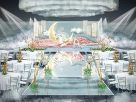 婚礼舞美手绘效果图设计