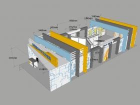 石家庄2018年贸易投资博览会 铝料、桁架