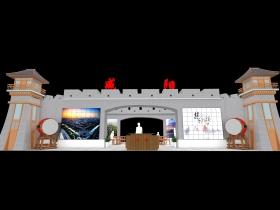 展台展览展示设计模型