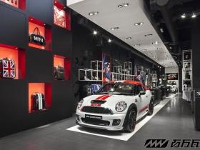 mini汽车商店展示