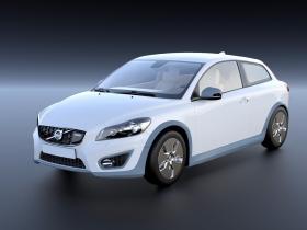 沃尔沃C30 电动车3D模型